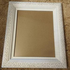 White Textured Frame